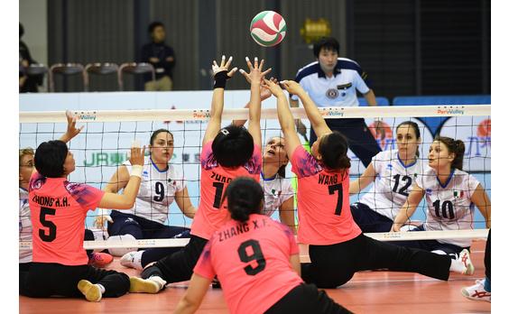 「シッティングバレーボール」の 国際大会。日本で16年ぶりに開催