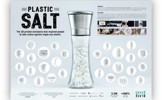 グリーン・イズ・ザ・ニューブラック&電通シンガポール、アースデイ(地球の日)にプラスチック汚染の啓発動画『プラスチック塩』を発表