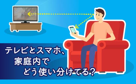 テレビとスマホ、家庭内でどう使い分けてる?先端調査手法で見えた生活者の「無意識」