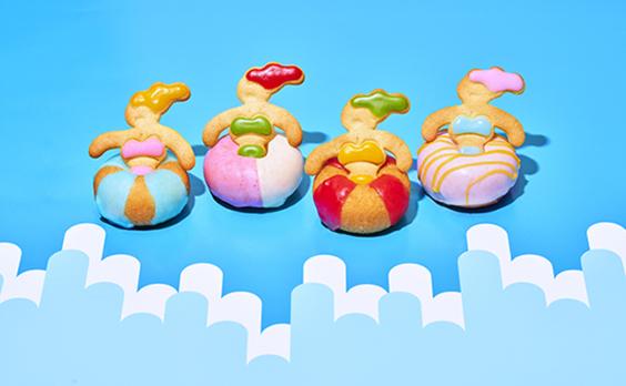 電通「食生活ラボ」共同開発の「ウキウキドーナツ」を九州・夏季限定で発売