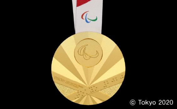 パラリンピックのメダルデザイン発表  競技体験イベントも開催