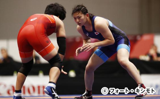 「READY STEADY TOKYO」  女子レスリング開催