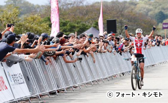 「READY STEADY TOKYO」  マウンテンバイクで白熱のレース
