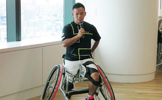 パラスポーツ認知度1位の 人気競技を紹介 「パラスポーツメディアフォーラム~車いすテニス~」開催