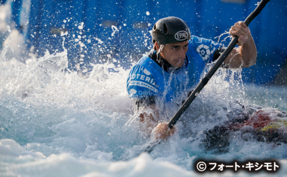 「READY STEADY TOKYO 」カヌー(スラローム)開催  羽根田卓也選手も参加