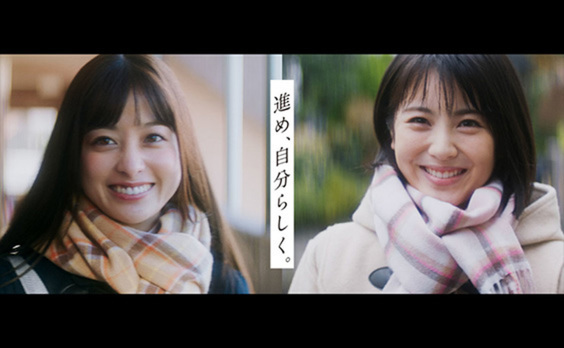 ドコモの学割 新テレビCM  橋本環奈さんと浜辺美波さんが演じる、 親友同士の青春ストーリー