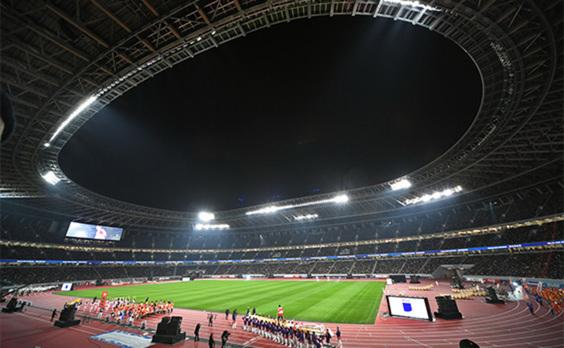 「国立競技場オープニングイベント」  文化、スポーツ、音楽コンテンツで 6万人が完成を祝賀(動画あり)