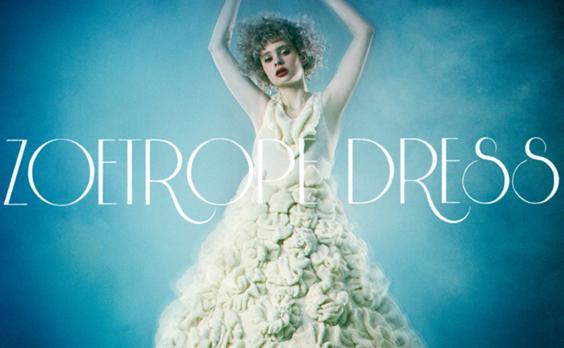 """ものづくりへの情熱と生命力を宿した """"動きだすドレス""""の制作秘話"""