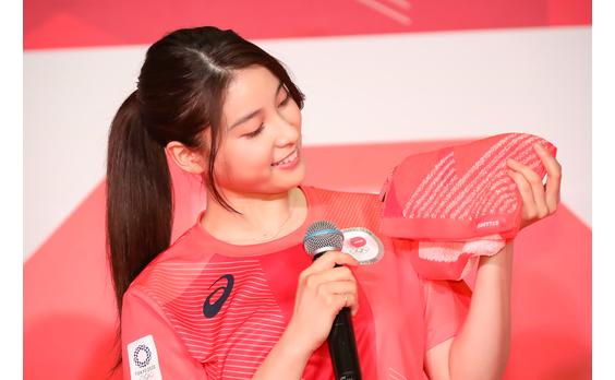 アシックス 「東京2020オフィシャルスポーツウェア PRイベント」開催