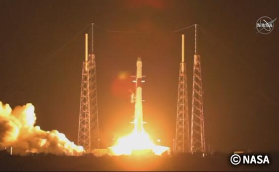 東京2020 応援衛星「G-SATELLITE」打ち上げに成功し、ISSに到着!(NASA中継映像あり)