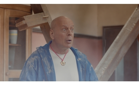「SoftBank 5G」新テレビCM ドラえもん役は、ブルース・ウィリスさん