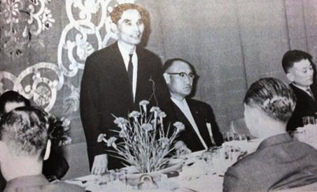 1962年、ビデオ・リサーチ発起人総会で