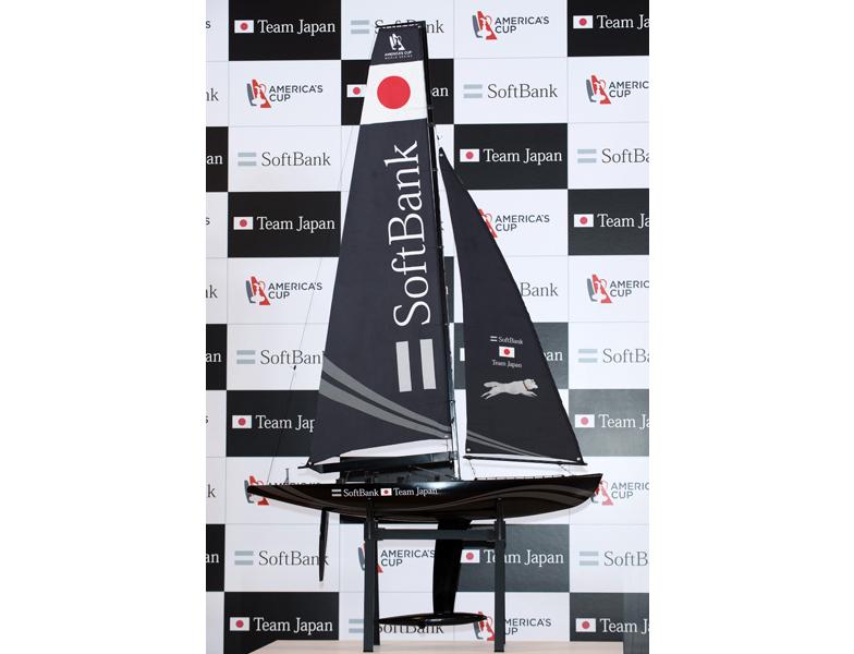 日本艇のイメージ模型