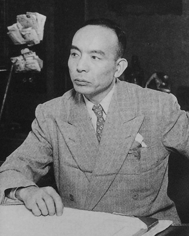 社長就任時の吉田秀雄