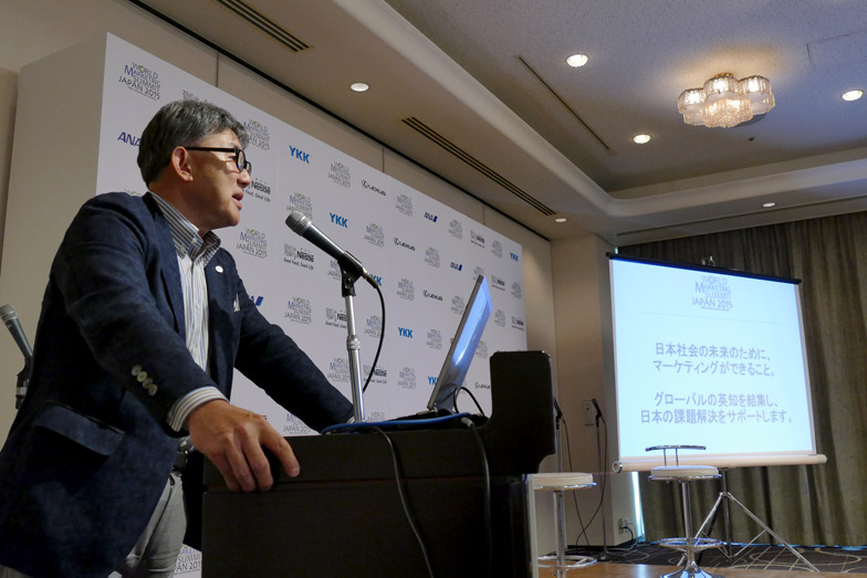 WMSジャパン・カウンシル代表 ネスレ日本CEO高岡浩三氏