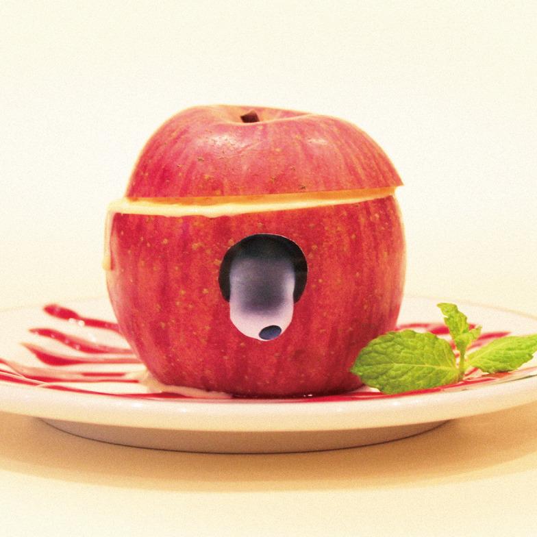 限定メニュー「リンゴゾンビシャーベット」