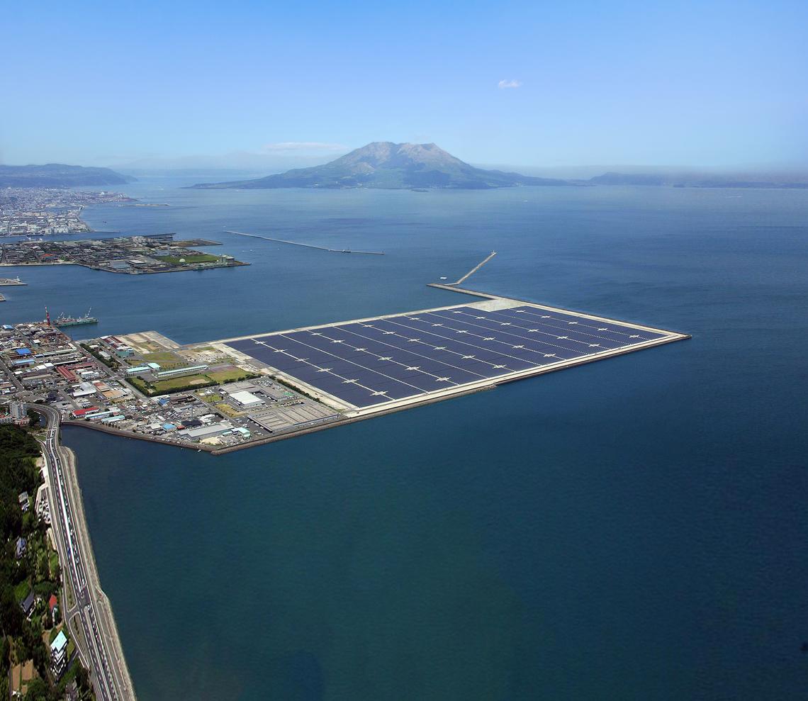 鹿児島七ツ島メガソーラー発電所