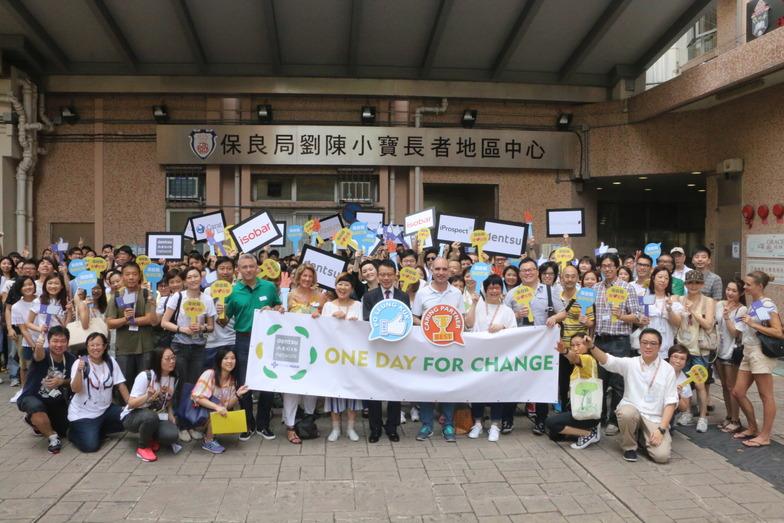 高齢者を対象としたボランティア活動を行うDAN香港