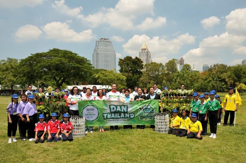DANタイランドはリサイクル活動を通じて子供たちに環境の大切さを教えた