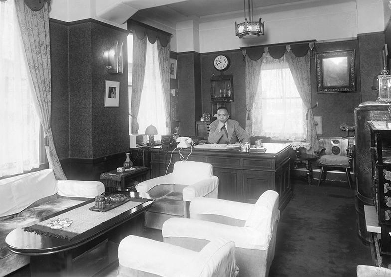 当時の社長室