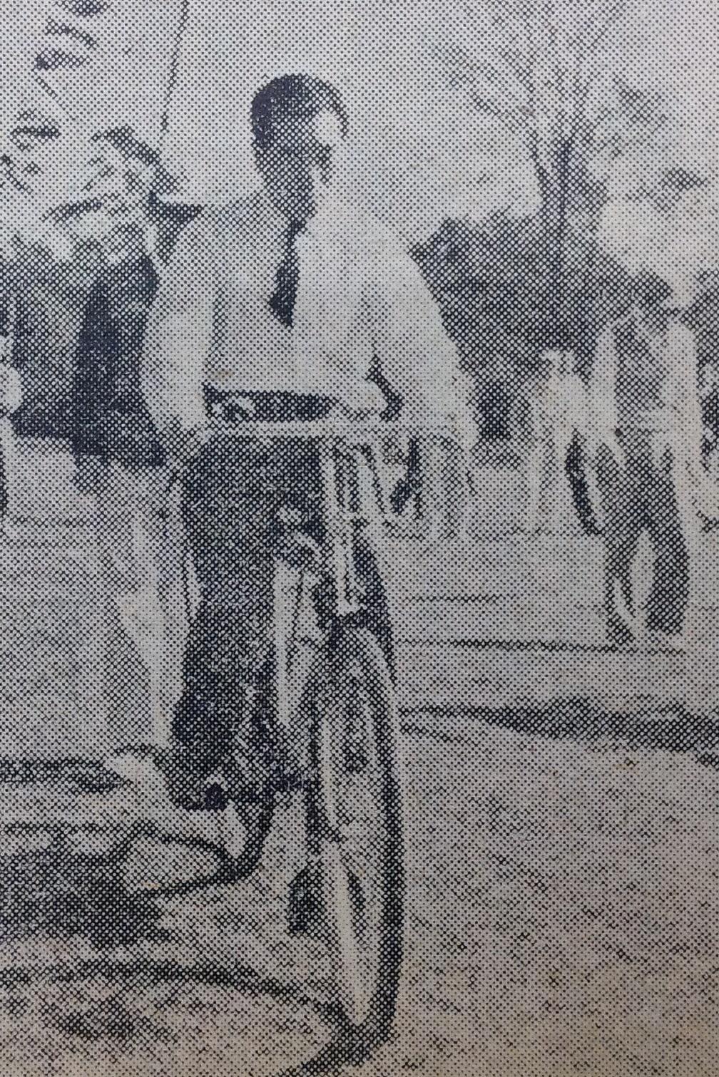 昭和29年の運動会で