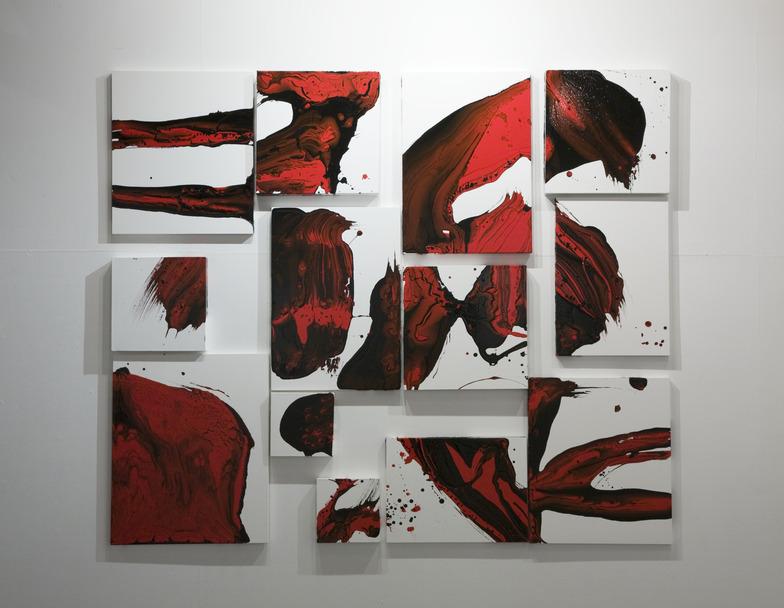 八戸さんの作品「trace」