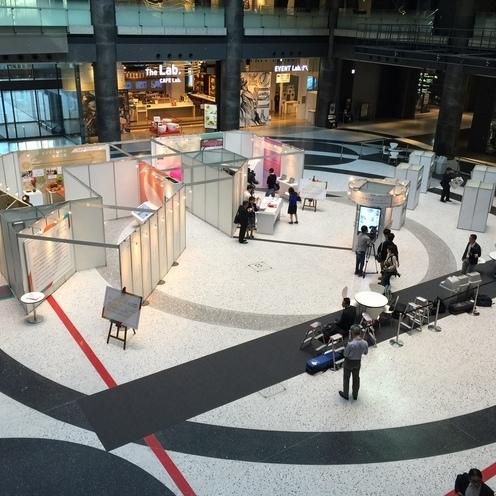 日本新聞協会主催「あしたの一面展」開催