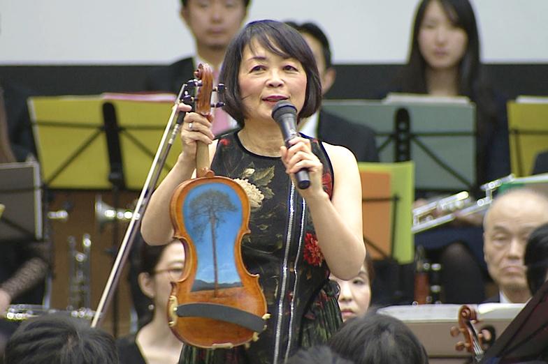 「TSUNAMIバイオリン」と中澤きみ子さん