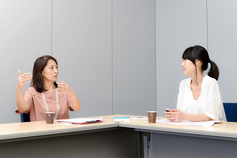 大崎麻子さんと外崎郁美
