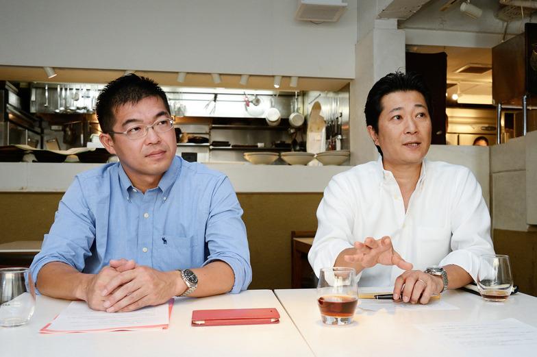 岡本氏と高橋氏