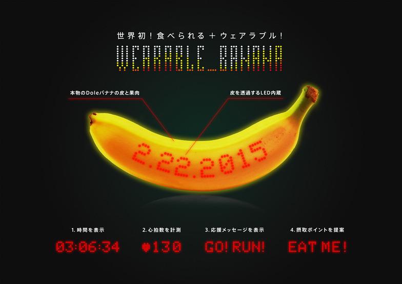 ウェアラブルバナナ