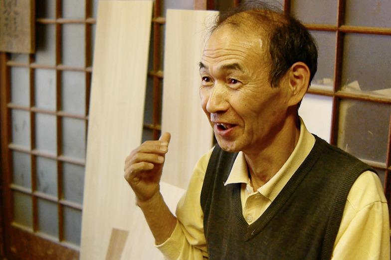 約50年間、桐箱を作り続けている道久さん