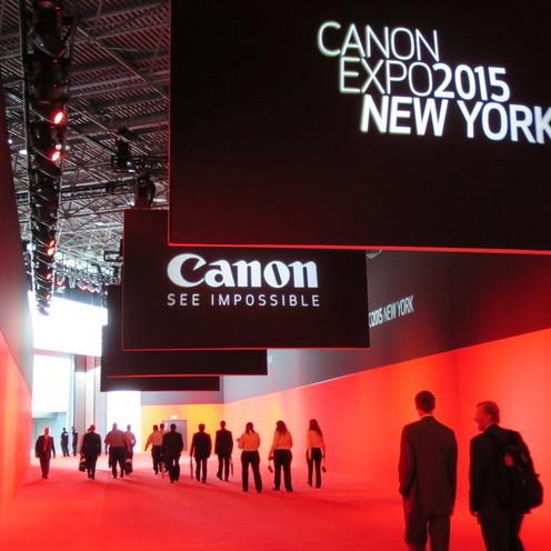 Canon EXPO 2015 先端映像技術で、 高画質を超えた「超臨場感」体験を