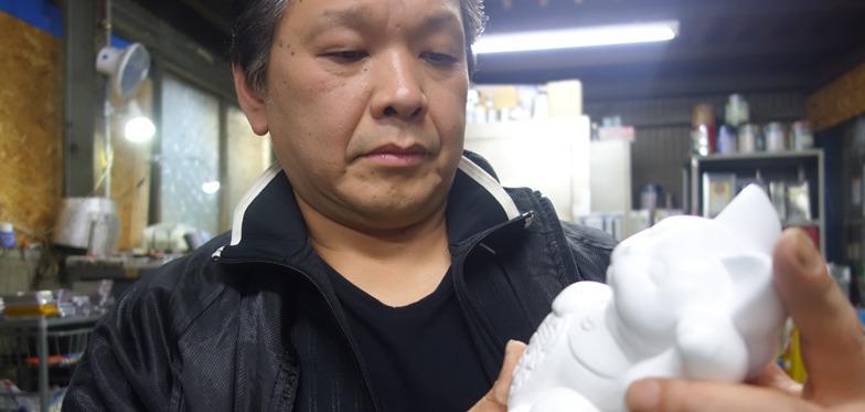 どうすればより良く転写できるか思考する松井さん