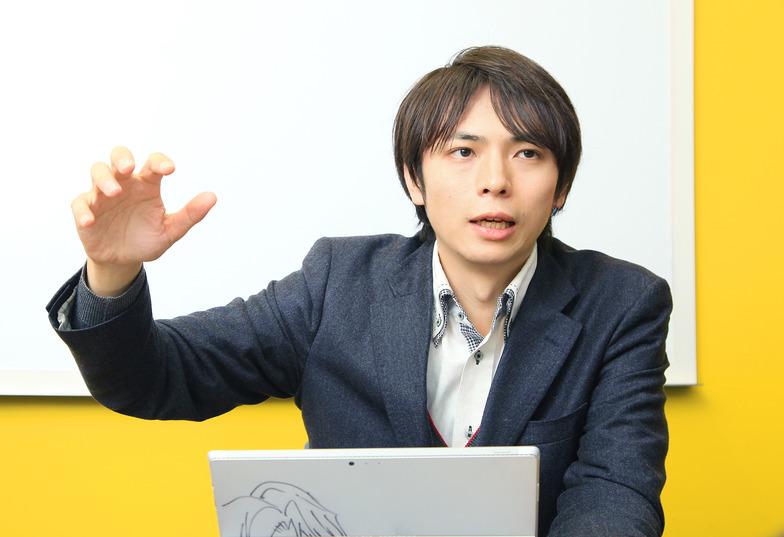 データアーティスト代表の山本覚さん