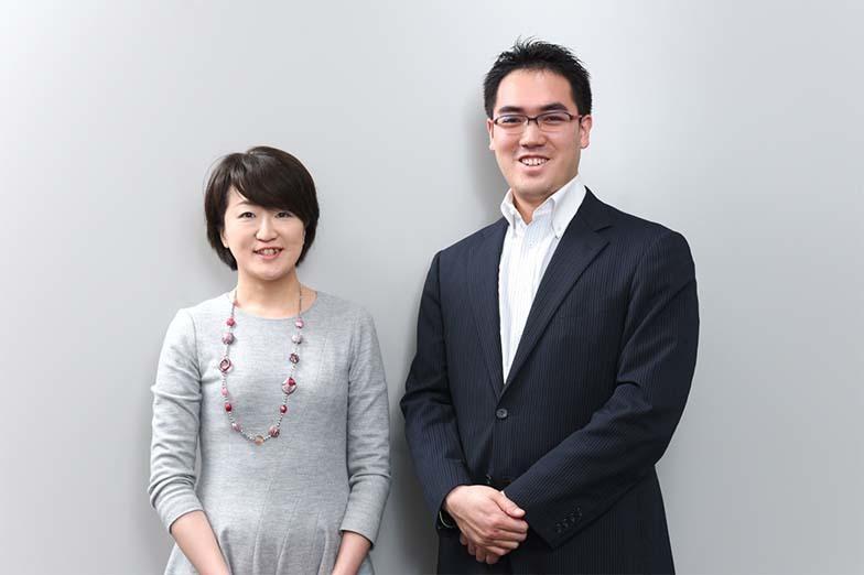 伊藤さん(左)と蓮村。共にFINOLABの立ち上げメンバー