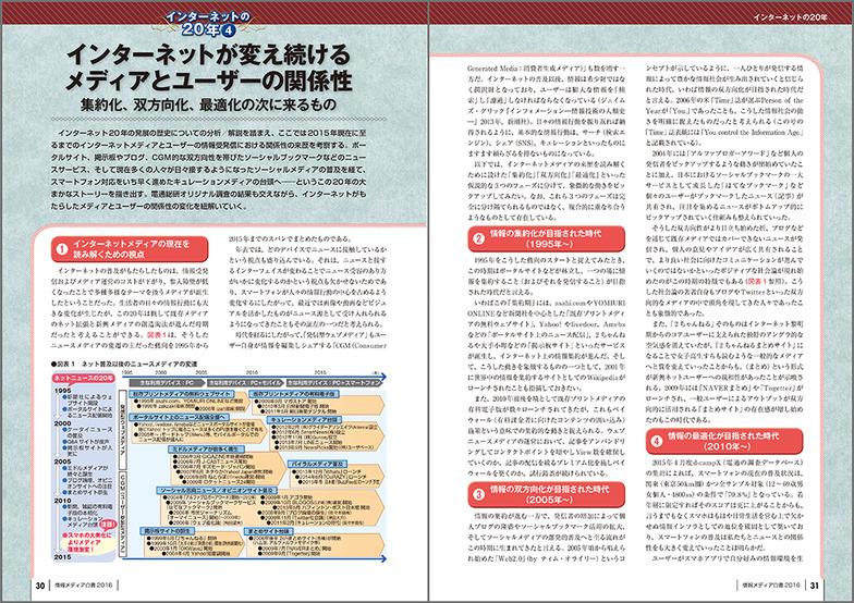 「情報メディア白書」P30-31