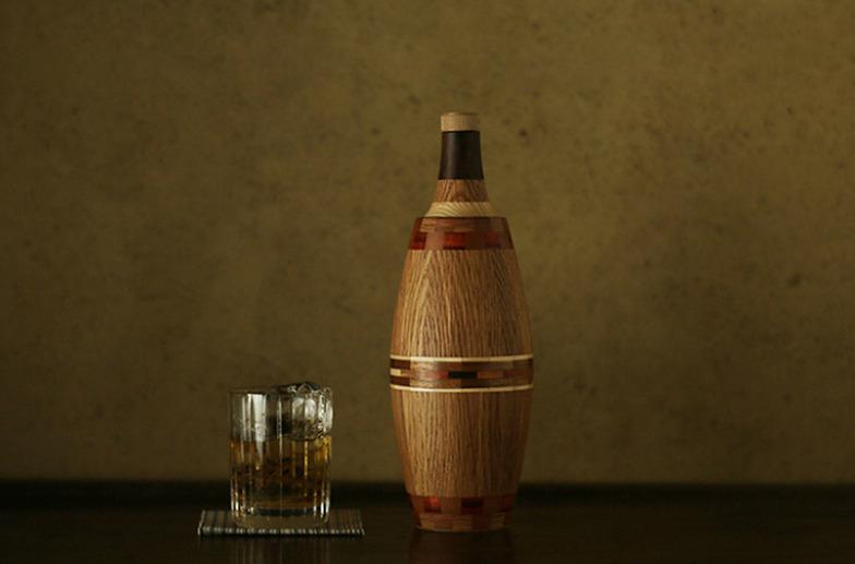 #05【新潟】木製のウイスキーボトルを作る。