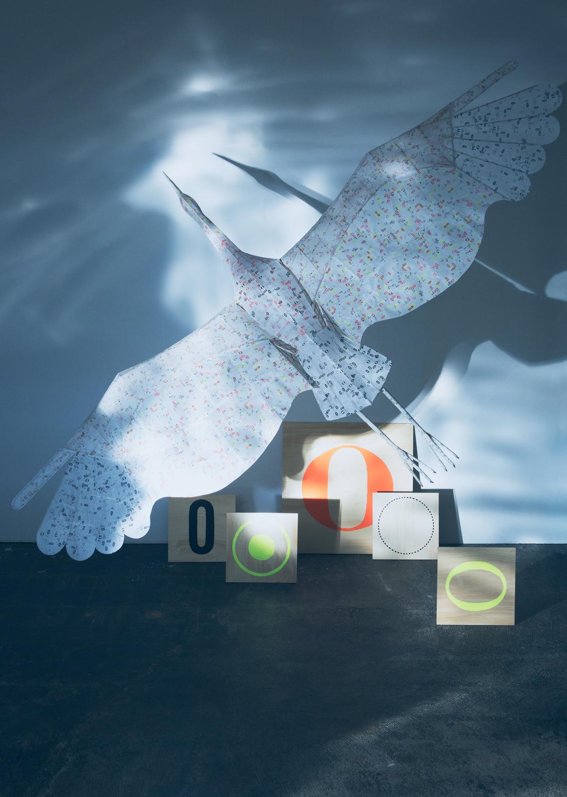 【青森】贈られ、引き継がれた鶴凧と活版