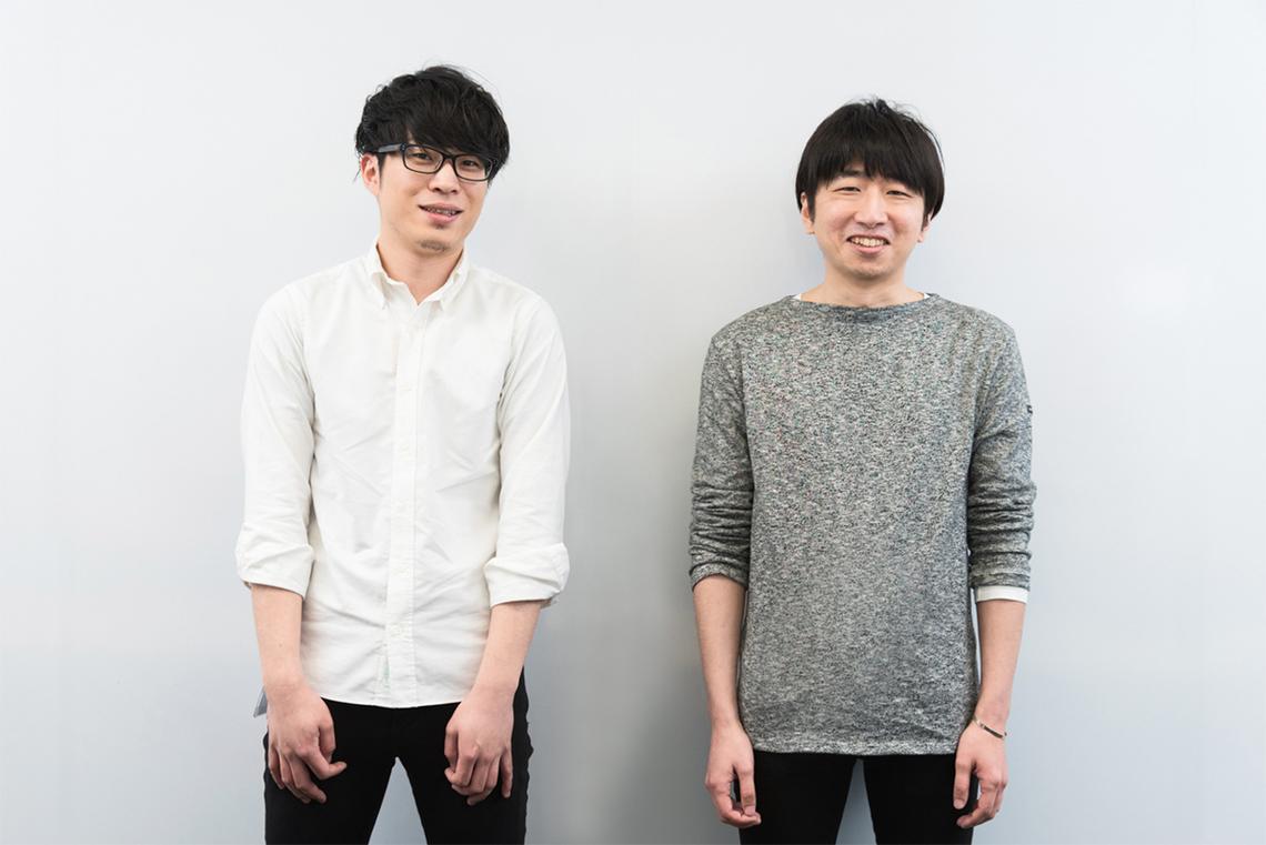 (左から)ネクステッジ電通の廣瀬さんと泉さん