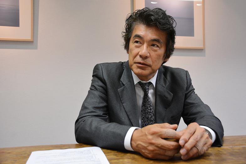 広告界の巨匠、タグボートのクリエーティブディレクター(CD)岡康道さん。 #ウェブ電通報初登場