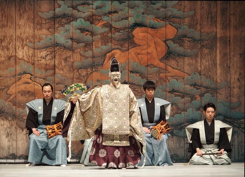 喜多流「翁ノ舞」で開幕