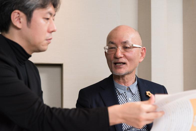 福井さん(左)と白土さん(右)