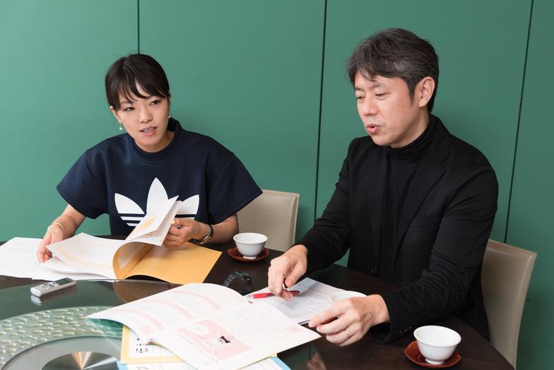 松永さん(左)と福井さん(右)