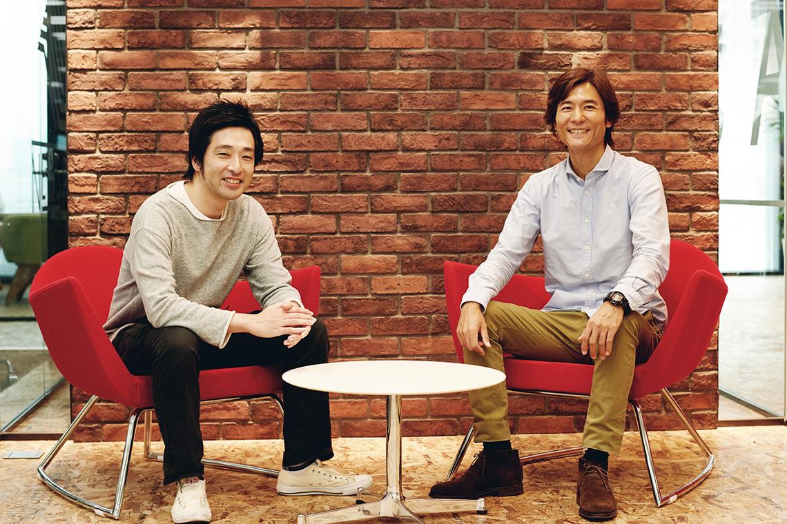 左から櫻田 潤氏、秋元 健氏