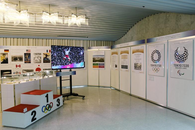 東京2020オリンピック・パラリンピックの展示