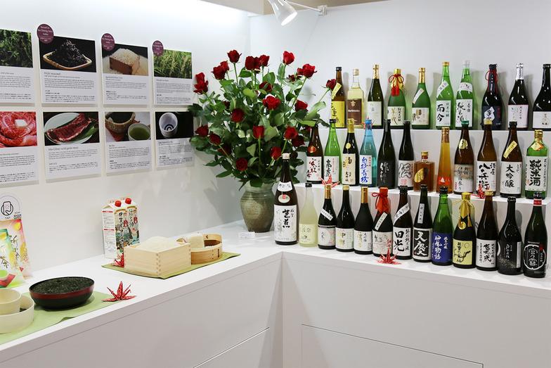 三重県の名産品を展示
