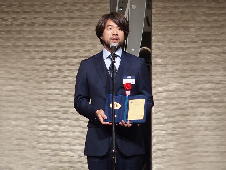 クリエイター・オブ・ザ・イヤーに選ばれた篠原氏
