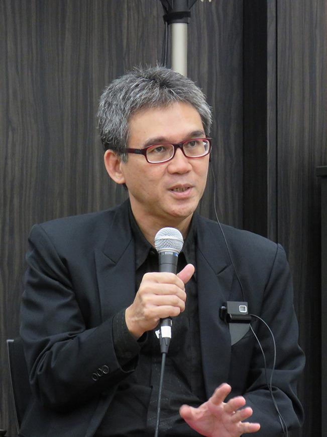 マレーシアから参加したマルコ・クスマウィジャヤ氏