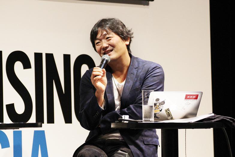 岡さんと話すのは2回目だという木村さん。#とてもそうは思えない #すごいモデレーター